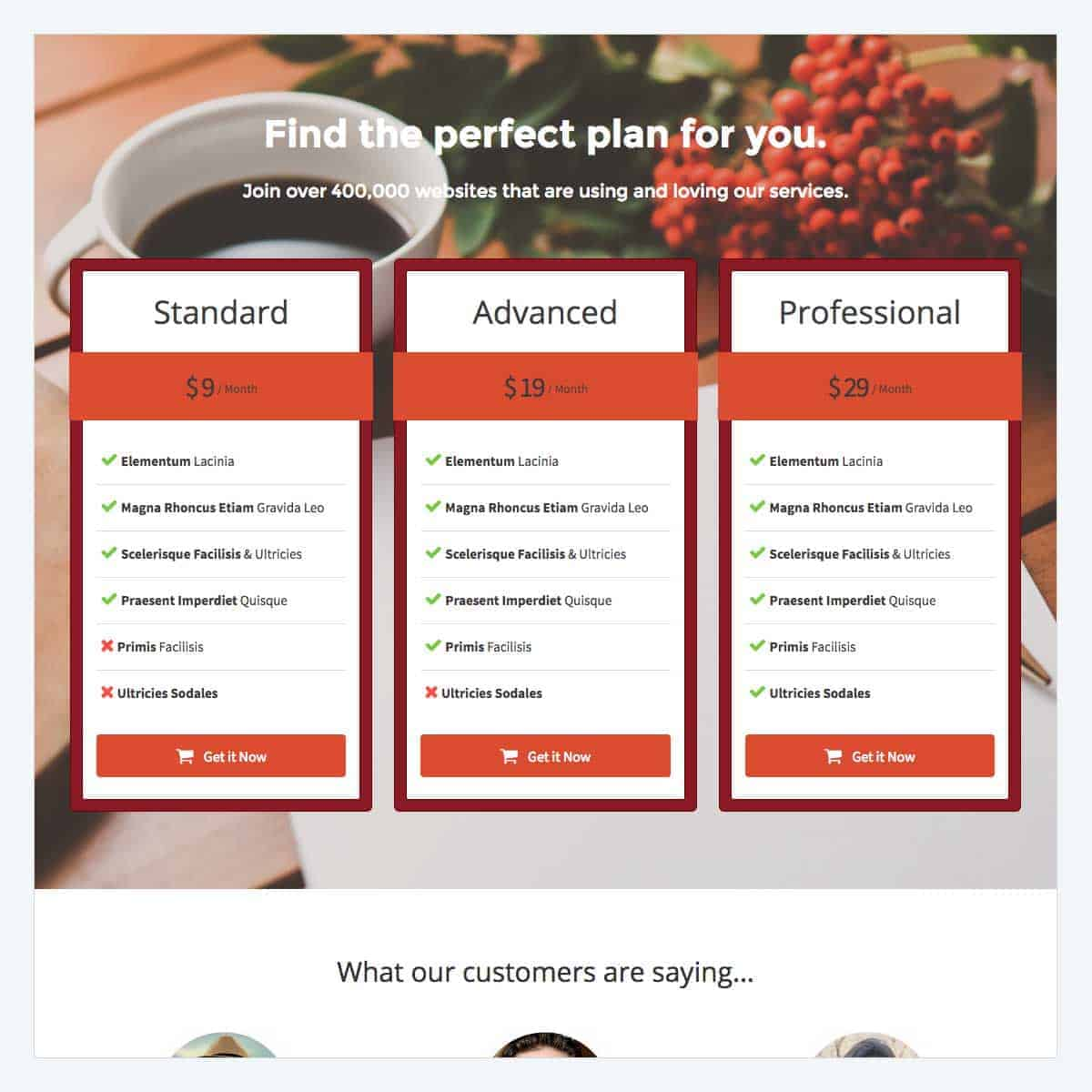 pricing-page-2-template