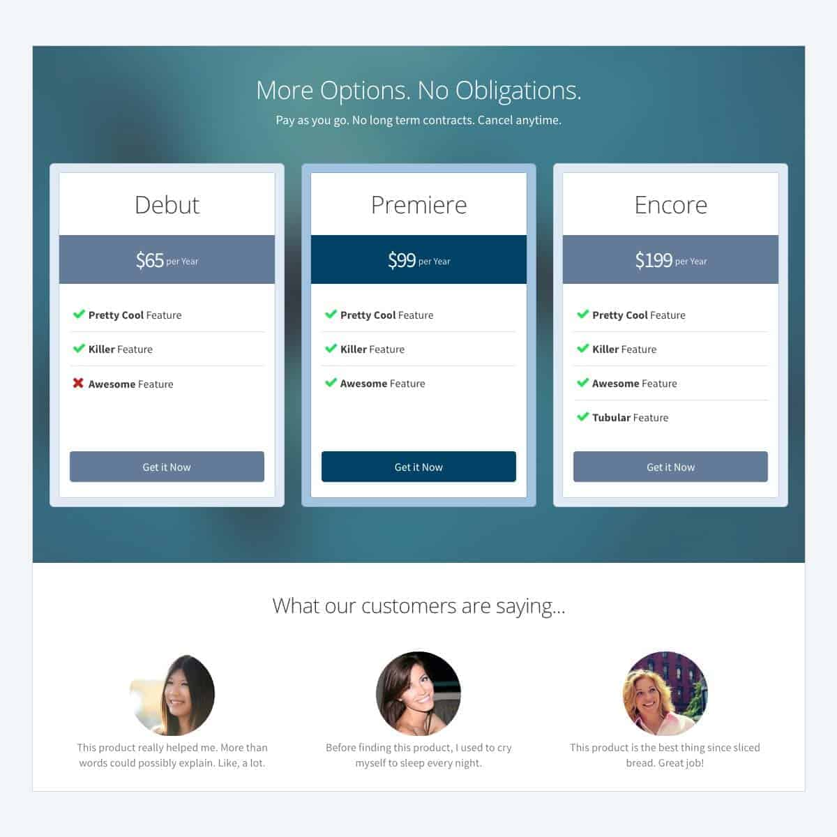 pricing-page-template